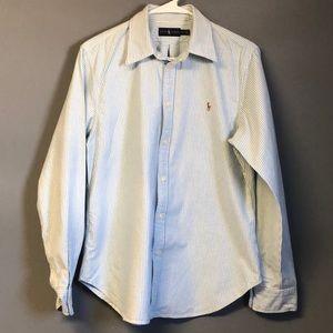 Women's Long Sleeved Ralph Lauren Polo Shirt